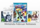 Releaseliste Februar 2016: Neue Games für Nintendos