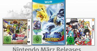 Nintendo Game Releases März 2016