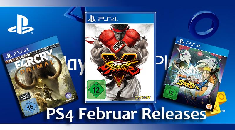 Playstation Game Releases Februar 2016