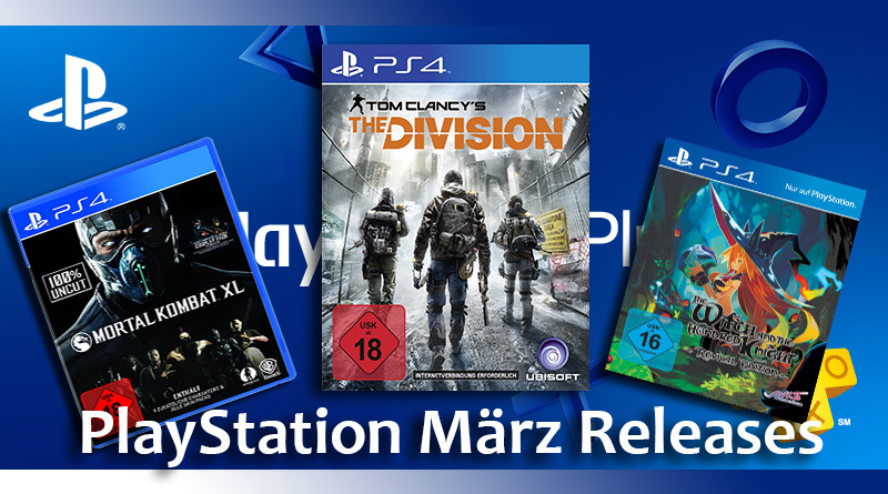 Playstation Game Releases März 2016