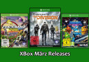 Releaseliste März 2016: Neue Games für Xbox One