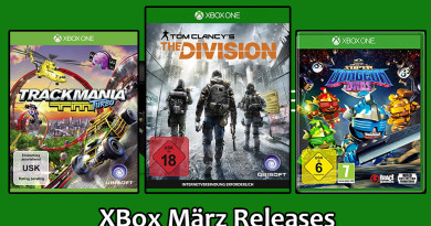 XBox One Game Releases März 2016