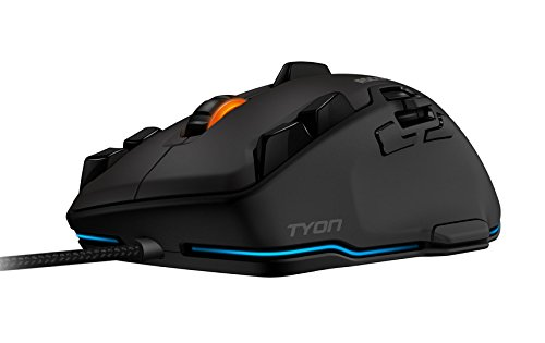 Roccat Tyon All Action Multi-Button Gaming Laser-Maus (8200dpi, 14-Tasten, USB) schwarz