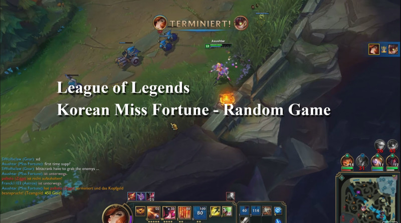 League of Legends - Miss Fortune - Korean MF