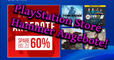 Consolero.de | PlayStatiion Store Hammer Januar Angebote für 2017